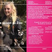 programme saison au zoo