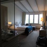 Unser Zimmer im Zollenspieker Fährhaus