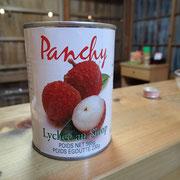 ライチはさすがに本場タイからの缶詰使用