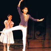 「シンデレラ」より王子 2003年るのバレエ発表会より
