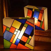 lampe style Mondrian