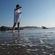 Gabrielle Zimmermann - Dripping 450 drops of water in the sea, 2018 - photo: Gaetan Aguado