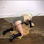 MYSELF AS AN ALLAN-JONES-TABLE, 2001/02 - Gabrielle Zimmermann