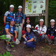 Teilnehmer Kletterkurs