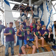 Gruppenbild Feriencamp 2015
