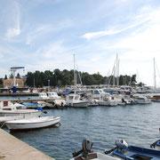 Hafen von Poreč