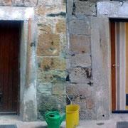 Neugestaltung einer Wohnhaustür in Franken, 2011