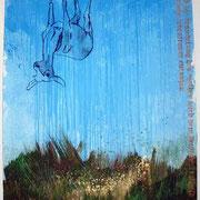 rettet das rotwild   1,80 m x 1,40 m, 2008
