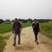 Birgit und Tom,unsere gemütlichen Schlußlichter!