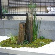 奈良県大和郡山市O様邸 造園・花壇植栽工事 枯山水風 施工事例