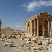 einer der vielen Tempel