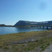 rechts der Porsangerfjord