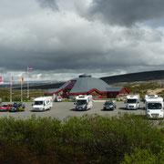 Polarkreis in Norwegen ...