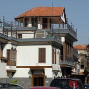 ein restauriertes Haus | Seitenansicht
