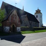 Rundgang in Gammelstad (Lulea)