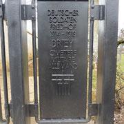 ein würdiger Friedhof für den damaligen Feind
