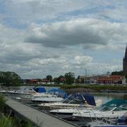 Mariestad am Vänernsee ...