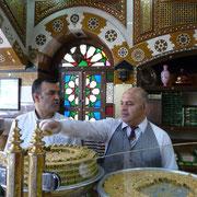 Koditorei in Damaskus bei den Daoud Brothers
