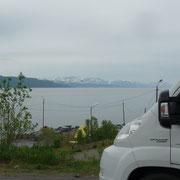 am Fjord in Alta