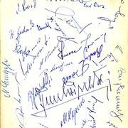 persönlich gesammelte Unterschriften