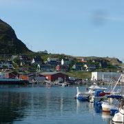 Abfahrt von Hammerfest