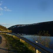 kurz vor Norwegen ... die Sonne scheint nun Tag und Nacht (ca. 22:00 Uhr)