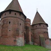 Eingang zur Marienburg in Malborg