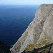 das Nordmeer | ab hier gibt es nur noch Wasser