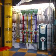 Ausstellung über verschiedene Energien im Museum | hier: Erdöl