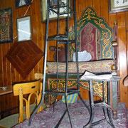Sitz des Erzählers im Café Nofara
