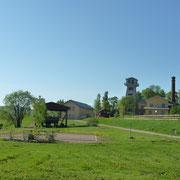 renaturiertes Industriegelände in Svartvik ...