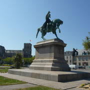 Statue von Napoleon in Cherbourg