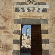 der Innenbereich der Festung