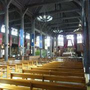 das Innenschiff der Kirche