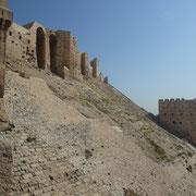 Graben vor der Zitadelle