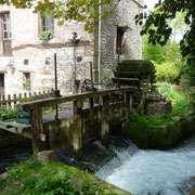Mühle in Veules-les-Roses