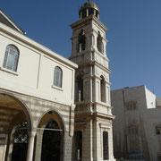 eine der vielen christlichen Kirchen in Damaskus