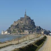 am Mont Saint Michel