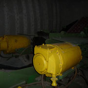 verschieden Untertagegeräte zum Grubenausbau