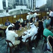 in der Eisdiele im Suq Hamidiye