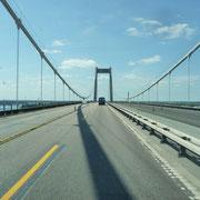 hier die letzte Dänemarkbrücke zum Festland