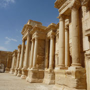das antike Theater in Palmyra