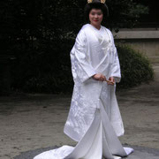 eine schöne Braut