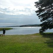 ein sehr großer See