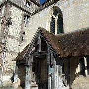 der Kircheneingang