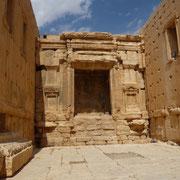 Innenbereich des Tempels