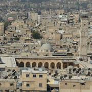 Blick auf die Moschee