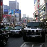 Linksverkehr in Japan