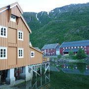 Häuser der Altstadt (Gammelstad) Mosjoen