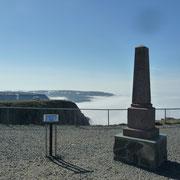 der geographische Punkt | Denkmal für Herrn Struve